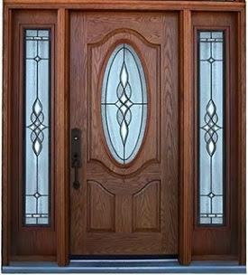 model desain pintu utama rumah minimalis dari kayu jati