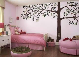 20+ Kombinasi Warna Cat Dinding Untuk Kamar Tidur Anak Perempuan TERBAIK