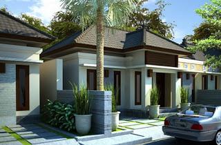 gambar denah rumah minimalis sederhana type 45