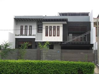 20+ Model Rumah Mewah Minimalis 2 Lantai Tampak Depan TERBARU 2017
