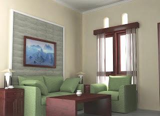 inovasi dekorasi ruang tamu ukuran kecil
