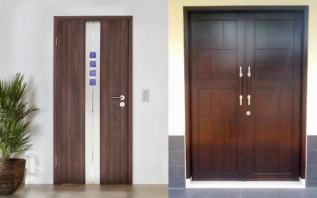 Daun Pintu 1 dan Daun Pintu 2 Minimalis